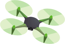 DRONE DES CHAMPS