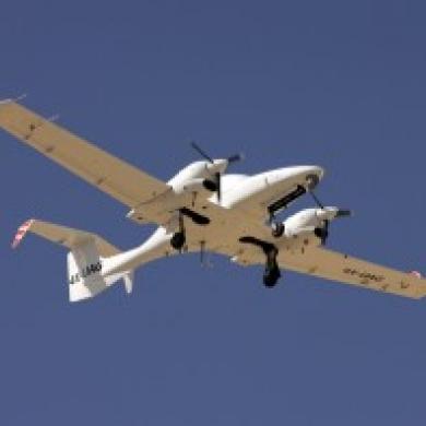Un drone au Spectacle aérien international de Bagotville!