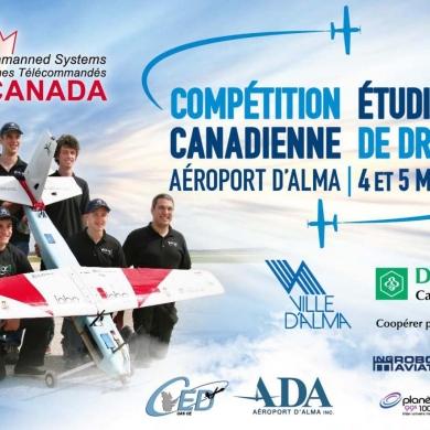 Conférence de presse sur la compétition étudiante canadienne de drones