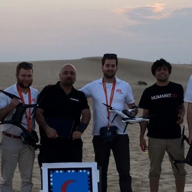 Une flotte de drones montréalais présentée à un concours international à Dubai