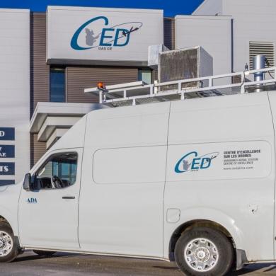 Le CED acquière une station de contrôle mobile