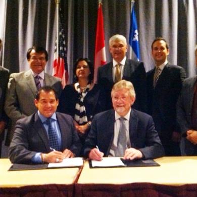 Le CED signe un protocole d'entente avec l'Oklahoma SU – UML