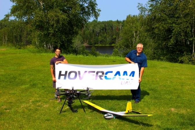 HOVERCAM UAV s'installe au Centre d'excellence sur les drones