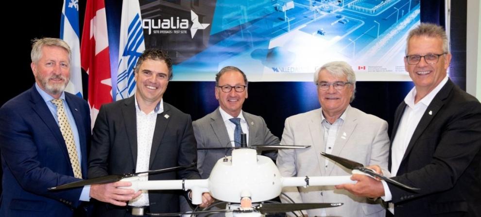 1,6 M$ accordés pour l'implantation d'un centre de préqualification de systèmes de drones à Alma